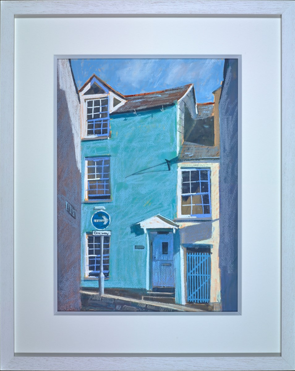 Duke Street, Padstow by james bartholomew -  sized 18x25 inches. Available from Whitewall Galleries